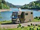 Camion porteur Volvo EUROCARGO 160E  Brun Peinture métallisée - 1
