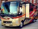 Camion porteur Volvo Thor Motor Coach Outlaw 37 Gris Peinture métallisée - 1