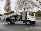 Camion tracteur Man TGL 10.220 BI BENNE GRUE BLANC - 8