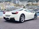 Ferrari 458 Italia 570 CV Bianco Avus Vendu - 9