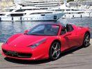 Ferrari 458 Spider V8 4.5 F1 570CV - MONACO Rosso Corsa  - 1
