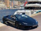 Lamborghini Huracan LP610-4 SPYDER 610 CV - MONACO Noir Noctis  - 2
