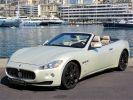 Maserati Grancabrio V8 4.7 BVA - 439 CV - MONACO Blanc Fuji  - 1
