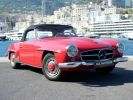 Mercedes 190 SL Rouge Occasion - 4