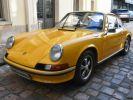 Porsche 911 2.4 S état Concours Jaune Signal  - 1