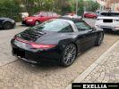 Porsche 911 991 Targa 4S NOIR PEINTURE METALISE  Occasion - 1