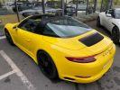 Porsche 911 Targa (991) 3.0 450CH 4 GTS Jaune  - 17