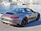 Porsche 911 TYPE 991 TARGA 4 GTS PDK 450 CV - MONACO Argent Métal - Covering Gris M  - 4