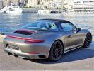 Porsche 911 TYPE 991 TARGA 4 GTS PDK 450 CV - MONACO Argent Métal - Covering Gris M  - 14