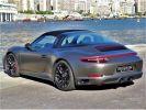Porsche 911 TYPE 991 TARGA 4 GTS PDK 450 CV - MONACO Argent Métal - Covering Gris M  - 16