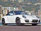 Porsche 911 TYPE 997 CARRERA 4 GTS CABRIOLET PDK 408 CV - MONACO Blanc  - 13