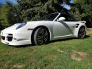 Porsche 911 TYPE 997 TURBO 500 PDK CABRIOLET BLANC  Occasion - 5