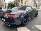 Porsche 991 PORSCHE 991 CARRERA 4S PDK CABRIOLET ACC/PSE / EXCLUSIF Noir  - 10