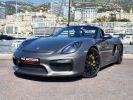Porsche Boxster SPYDER 375 CV TYPE 981 Gris Quartz Occasion - 1