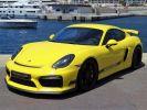 Porsche Cayman GT4 TYPE 981 385 CV - MONACO  Jaune  - 1