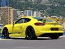 Porsche Cayman GT4 TYPE 981 385 CV - MONACO  Jaune  - 7