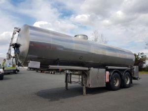 Citerne inox calorifugée 25500 litres
