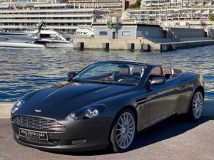 Aston Martin DB9 V12 VOLANTE 455 CV - MONACO Occasion