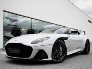 Aston Martin DBS SUPERLEGGERA#Cuir Blanc Argento métal Dynamic Futurist Occasion