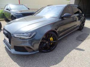 Audi RS6 AVANT 4.0L TFSI 560ps Tipt/Carbone Freins Ceramique  tete haute  Occasion