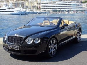 Bentley Continental GTC Cabriolet 6.0 Bi-Turbo W12 560 CV - MONACO Vendu
