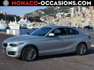 BMW Série 2 218d 150ch Luxury Occasion