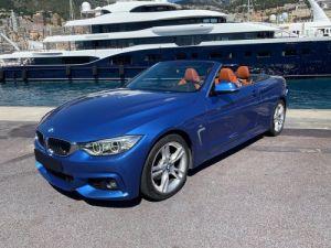 BMW Série 4 420d CABRIOLET 190 CV M SPORT BVA8 - MONACO Vendu