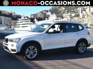 BMW X3 xDrive20d 190ch Occasion