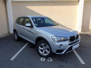 BMW X3 xDrive20dA 190ch Executive Occasion