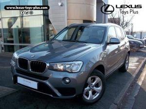BMW X3 xDrive20dA 190ch Lounge Plus Occasion