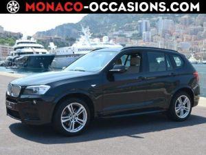BMW X3 xDrive35dA 313ch Sport Design Occasion