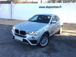 BMW X4 xDrive20d 190ch xLine Occasion