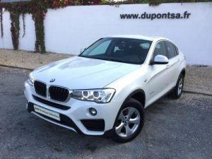 BMW X4 xDrive20dA 190ch Lounge Plus Occasion
