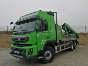 Camión Volvo FMX Caja abierta + grúa FMX 6X2 410 CH Occasion