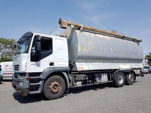 Camión Iveco Stralis Citerna Pulverulentas AT 420 6x2 - 260 S 42 - ECOVRAC 33m3 Occasion