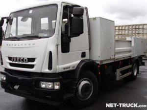 Camión Iveco EuroCargo Gondola lleva maquinas Occasion