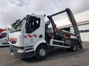 Camión Renault Midlum Portacontenedores de cadenas 220dxi.16 - Accidenté Occasion