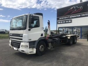 Camion porteur Daf CF85 Ampliroll Polybenne 380 VERSION 6X2 Occasion
