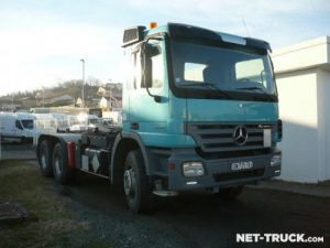 Camion porteur Mercedes Actros Ampliroll Polybenne Occasion