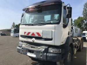 Camion porteur Renault Kerax Ampliroll Polybenne 6X4 RECONDTIONNE 370.26  Occasion