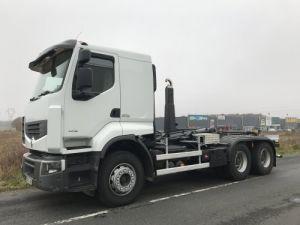 Camion porteur Renault Premium Lander Ampliroll Polybenne 460dxi.26 6x4 Occasion