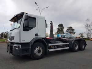 Camion porteur Renault Premium Ampliroll Polybenne LANDER 430dxi.26 6x4 Occasion