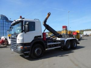 Camion porteur Scania P Ampliroll Polybenne 360 Occasion