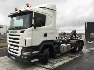 Camion porteur Scania R Ampliroll Polybenne 420 Occasion
