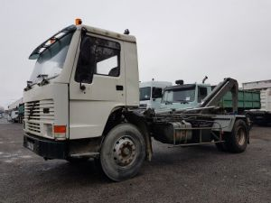 Camion porteur Volvo FL7 Ampliroll Polybenne GUIMA BS14 à 4 verrouillages - Véhicule pour pièces Occasion
