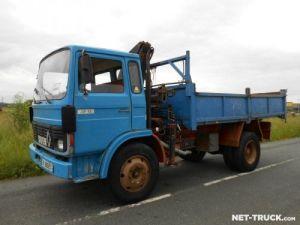 Camion porteur Renault J Benne + grue Occasion