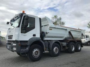 Camion porteur Iveco Trakker Benne arrière 450 8x4  Occasion