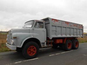 Camion porteur Man Benne arrière DH 6x4 Occasion