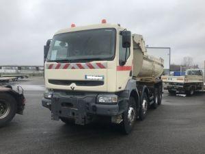 Camion porteur Renault Kerax Benne arrière 370.32  Occasion