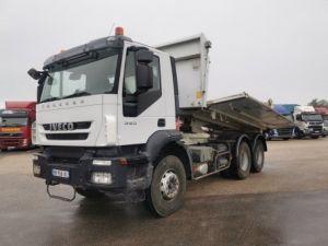 Camion porteur Iveco Bibenne / Tribenne TRAKKER 6X4 360 Occasion